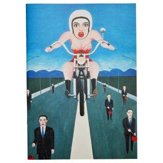 横尾忠則 B5アートノート:オートバイ