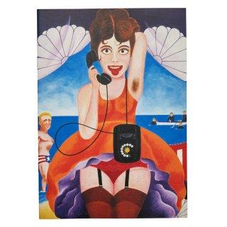 横尾忠則 B5アートノート:電話