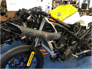 YZF-R25/R3<br>DFRエアダクトセット