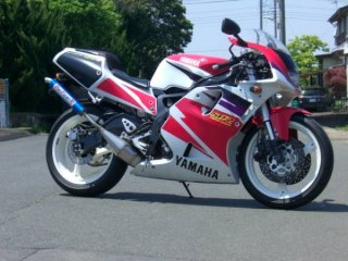 TZR250R<br />ドッグファイト<br />ステンレスチャンバー<br />カーボン<br />