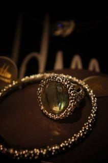 Classic Ring (リング)[AN082 AGBR(シルバーブラック) Labradoriteオーダー商品