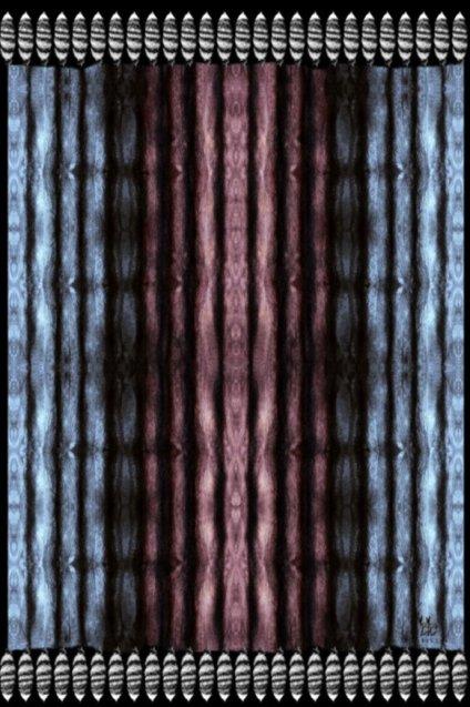 カシミア大判ストール XL長方形 アニマル柄Tail Deer  Black/Burgundy/Blue 残り2枚