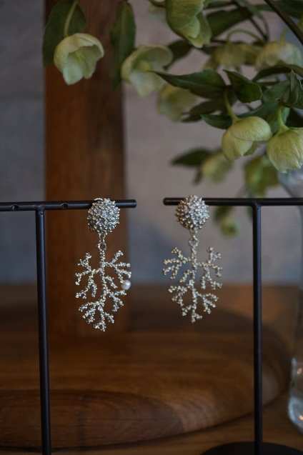 Coral Earrings/Pieces(イヤリング/ピアス)[OR1072 OTAG】人気No.1