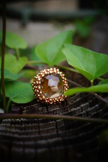 Sweet&sour Ring (リング)[AN155 OTRA スモーキークオーツ オーダー商品