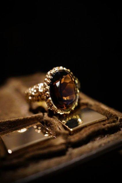 Daniela de Marchi Intramontabili Ring(リング) AN78 OTBR Smoky.Q Freesize オーダー商品
