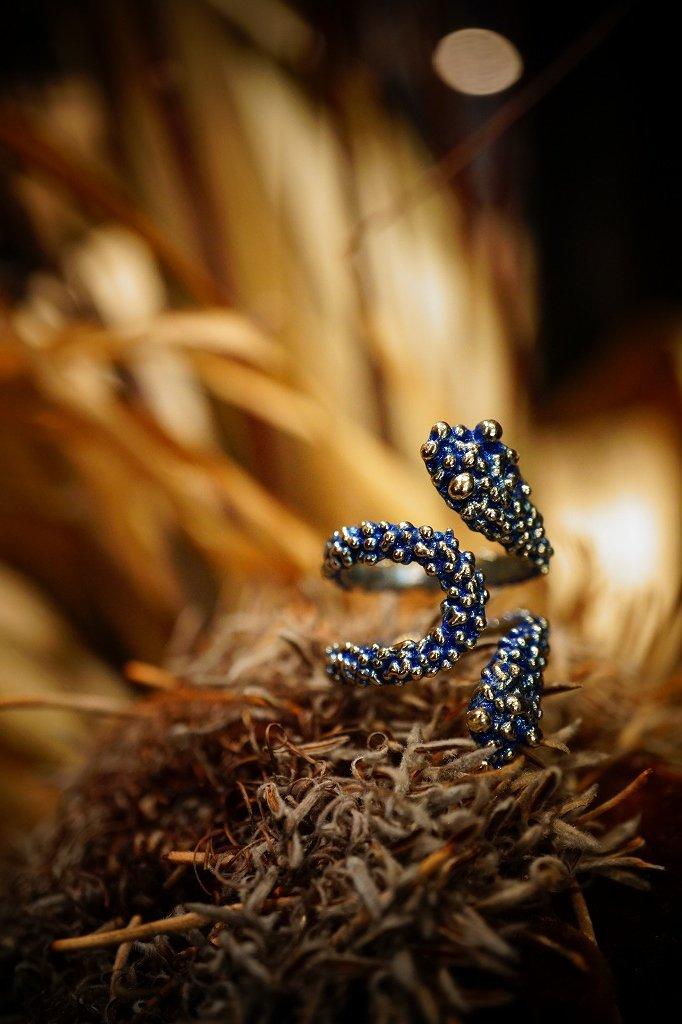 Tangle Snake Ring (リング)[AN68 OMI]オーダー商品