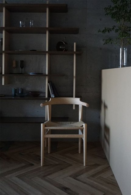 PP mobler Hans J Wegner(ハンスJウェグナー) pp68 the last dining chair(ダイニングチェア) Beech / Soap