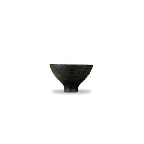 我戸幹男 AEKA Collection round bowl L Black