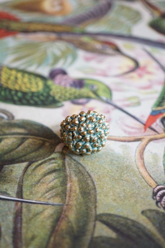 Sea Urchin Band Ring (リング)[AN60 OTTURK]