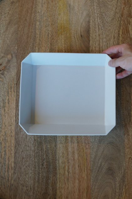 1616/arita TY Square Bowl255 White