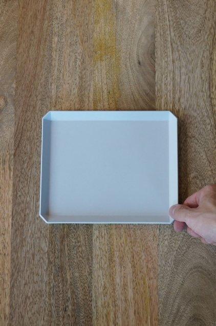 1616/arita TY SquarePlate200 Gray