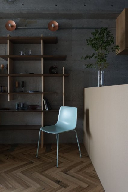 Fredericia Pato 4 leg chair / base : Ocean col