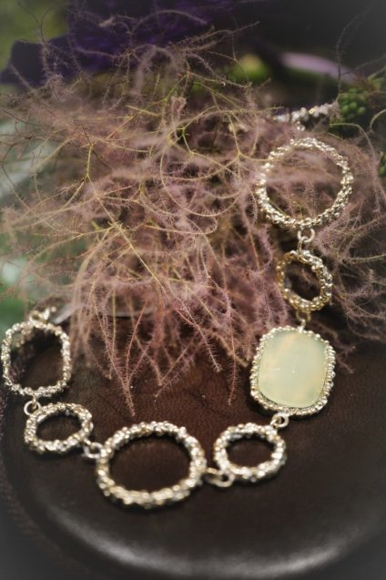 Segreti Collection Bracelet with Stone(ブレスレット)BR 3091 OTAG NewJade オーダー商品