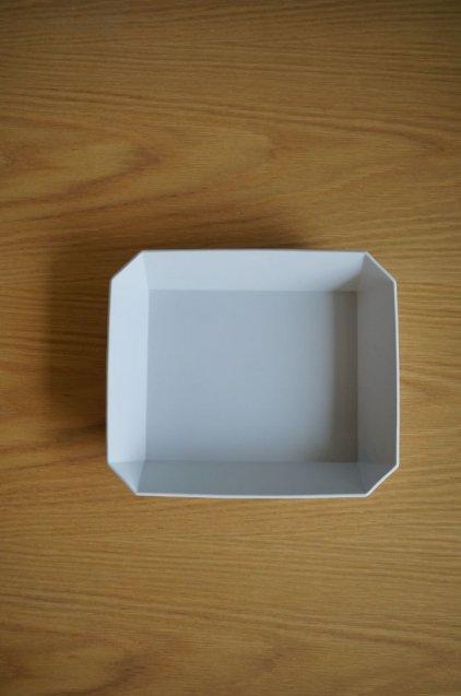 1616/arita TY Square Bowl220 Grey