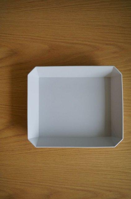 1616/arita TY Square Bowl255 Grey