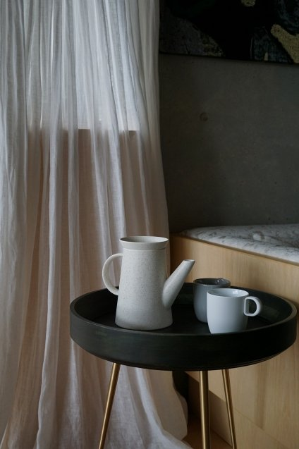 2016/arita  BG/009 Coffee Pot White Sprinkle