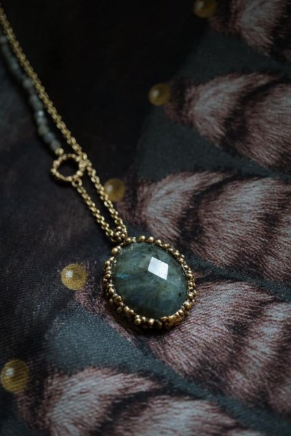 Ricordi Collection 2WAY Necklace(ネックレス)[CL5496 OTBR Labradorite オーダー商品