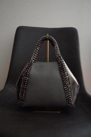 de Couture(デクチュール)2WAYチェーントートバッグSサイズ  Grey/Metallic Silver