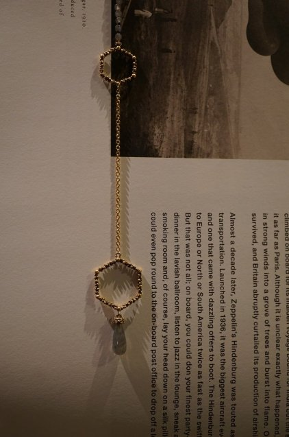 Honey Collection V-LINE Necklace(ネックレス)[CL 5618 OTBR Labradrite]オーダー商品