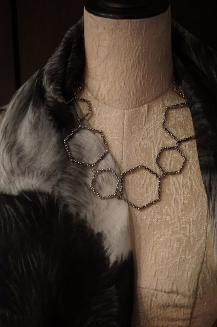 Honey Collection Necklace(ネックレス)[CL 5617 AGBR]シルバーブラック