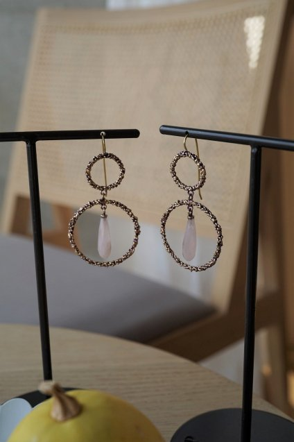 Charlotte Collection Pieces (ピアス) OR1322 OTVIO Rosa.Q