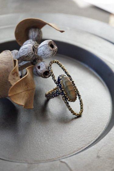 ZEN collection Ring(リング)[AN173 OMI Labradorite]