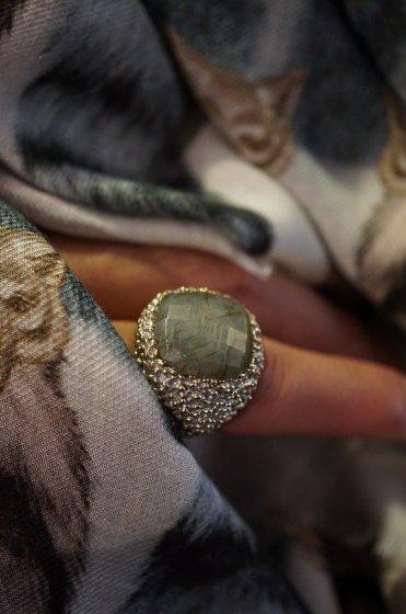 Segreti Ring(リング) AN144 OTAG Labradorite Freesize