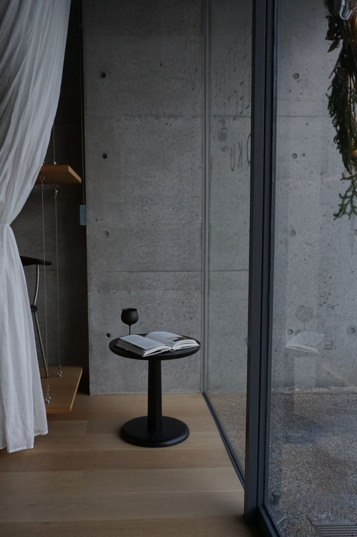 Fredericia  JASPER MORRISON Model-1290 Coffee Table BlackLacquer