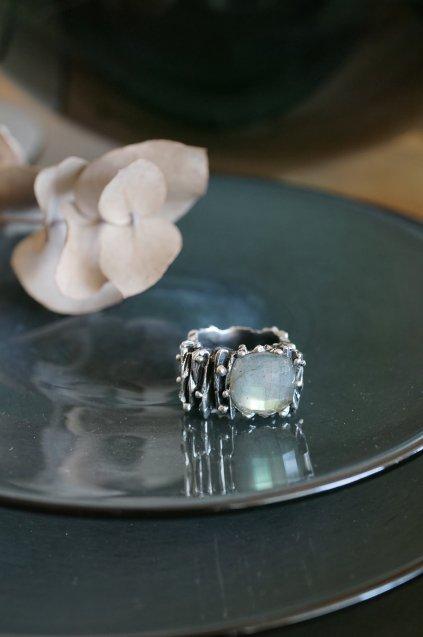 Rock Ring (リング)[AN343 AGBR Labradorite