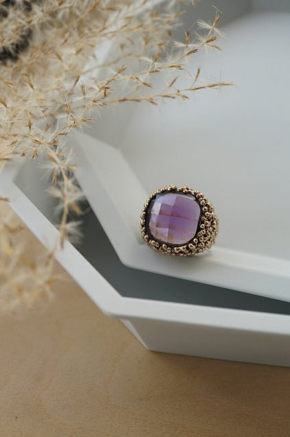 ScaccoCollection Ring (リング)[AN174 OTVIO Amesist