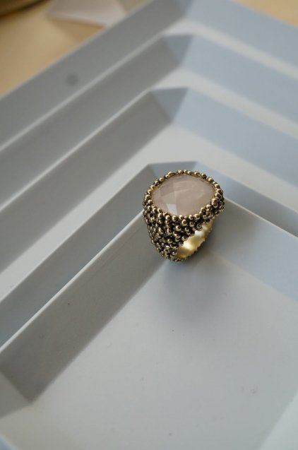 ScaccoCollection Ring (リング)[AN174 OTBR Rosa