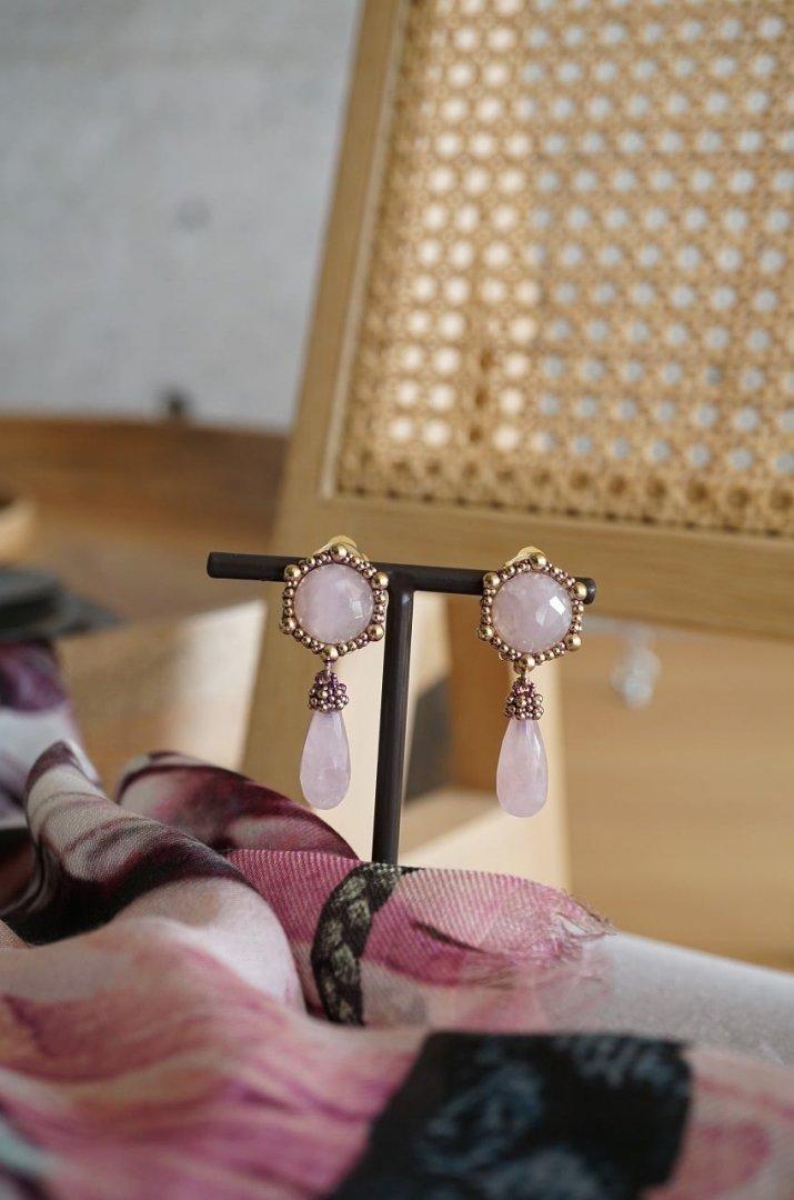 Honey Collection Earrings (イヤリング) OR1336 OTVIO Rosa.Q