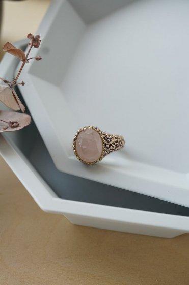 Intramontabili Ring(リング) AN78 OTVIO Rosa.Q Freesize