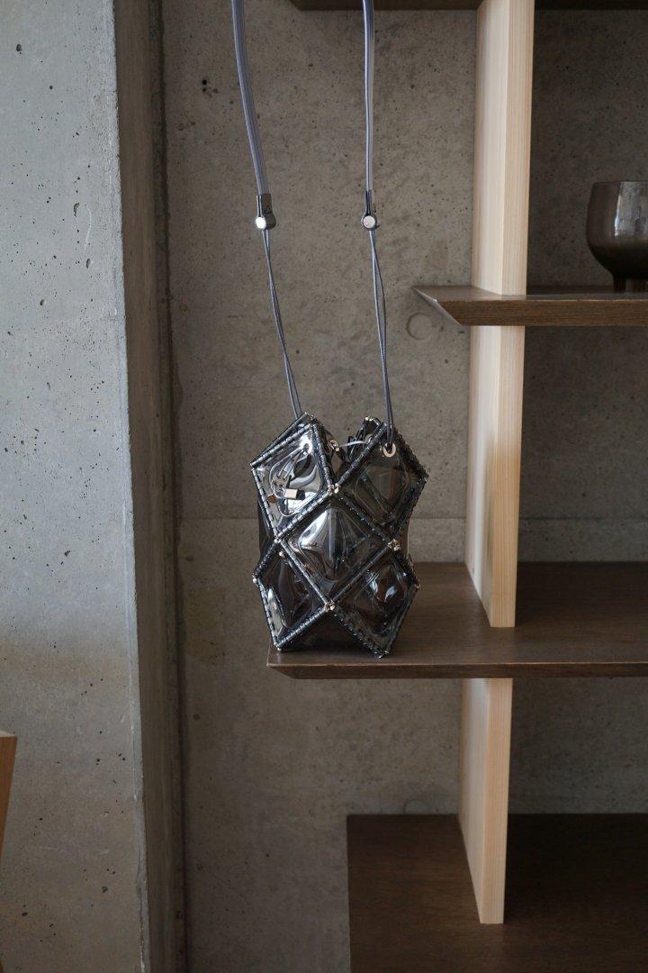 52 BY HIKARUMATSUMURA Miss ROBOT 『ASTERISK MEDIUM』スケルトン Lightgrey