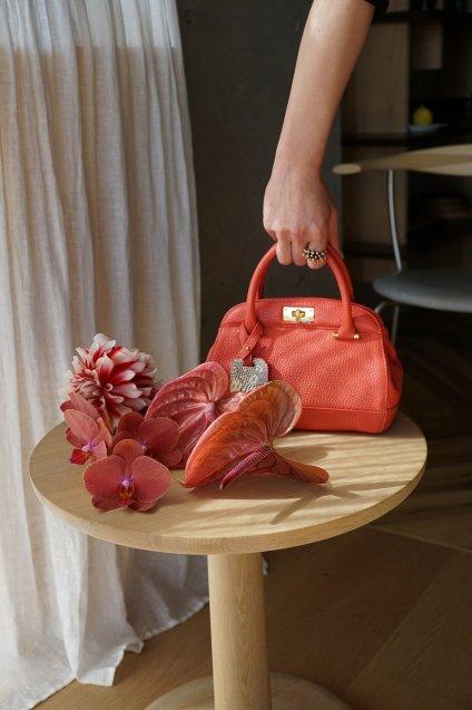 【期間限定販売】JUNYA WARASHINA(ジュンヤ ワラシナ) 2WAY(Hand&Shoulder) minibag GUREmini,CH04  color:PINK