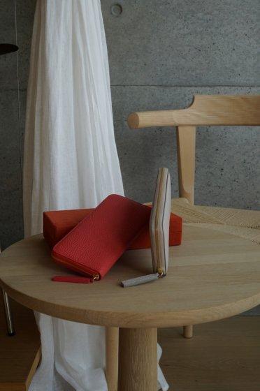【期間限定販売】JUNYA WARASHINA(ジュンヤ ワラシナ) Wallet(ZIP) Lacina mini  color:PINK