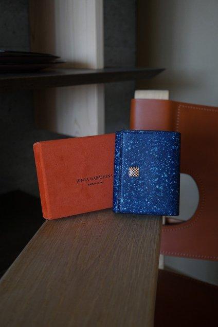 【期間限定販売】JUNYA WARASHINA(ジュンヤ ワラシナ) Wallet(3つ折り) Eami BLUE
