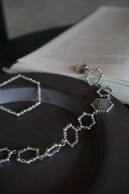 Honey Collection Bracelet with Stone(ブレスレット)BR 3112 AGBR Labradrite