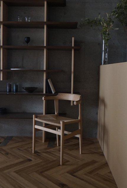 PP mobler Hans J Wegner(ハンスJウェグナー) pp68 the last dining chair(ダイニングチェア) Oak / Soap