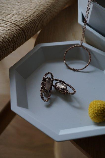 ZEN collection Earrings(イヤリング)[OR1301 OTVIO Rosa.Q]*廃番商品