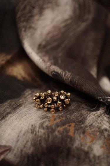 Diamond Ring(ダイヤモンド) AN921 BZBR bronze
