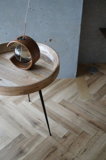 mater Bowl Table Natural  M(sustainable)