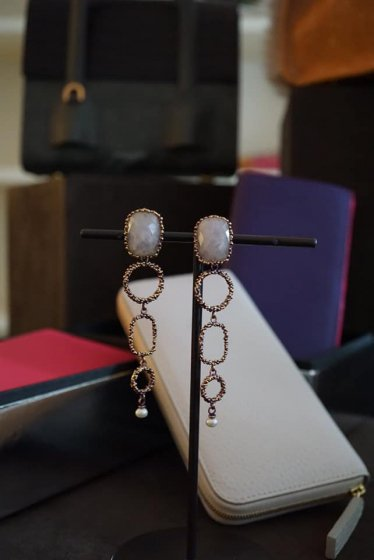 Segreti Long Earrings(イヤリング)OR1272 OTVIO Rosa.Q