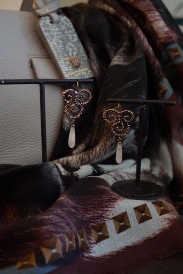 Daniela de Marchi Ghirigori Collection Pieces(ピアス)[OR1185 OTVIO Rosa.Q)]