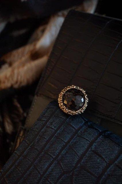 Daniela de Machi Classic Ring (リング)[AN082 BZBR Smoky.Q]