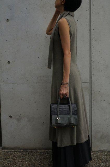 【期間限定販売】JUNYA WARASHINA(ジュンヤ ワラシナ) Handbag 2WAY Bell CROC 受注生産
