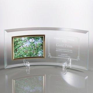 板ガラス写真立て表彰楯 JP-VOS.562