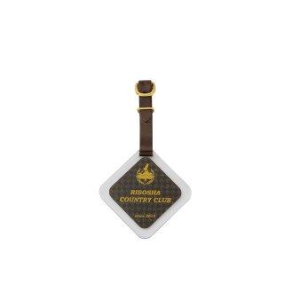 ゴルフバッグ札 透明アクリル貼り合わせ JP-300-4