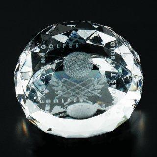 ダイヤカットクリスタルペーパーウエイト JP-SOG-019