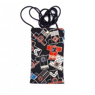 ポシェット 東京帆布 (半てん柄、まとい柄)